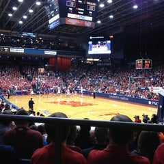 Photo taken at UD Arena by Christina A. on 1/26/2013