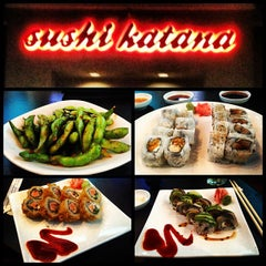 Photo taken at Sushi Katana by Jordan R. on 1/20/2013