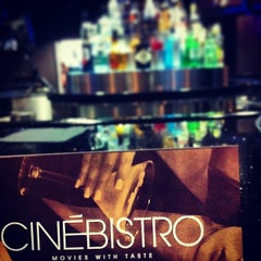 Photo taken at CinéBistro at Peninsula Town Center by Coach d. on 6/1/2014