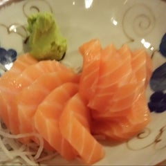 Photo taken at Kome Japanese Dining @ Keppel Club by Adelene T. on 9/16/2013