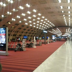 Photo taken at Aéroport Paris-Charles de Gaulle (CDG) by Edgars E. on 1/9/2013