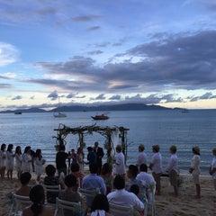 Photo taken at Peace Resort Samui by Nigel K. on 9/26/2015