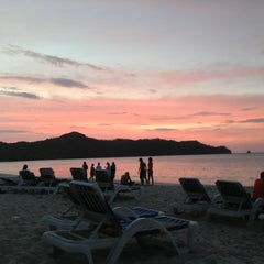 Photo taken at Reserva Beach Club by Nathalie M. on 12/28/2012