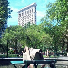 Photo taken at Madison Square Park by jose b. on 8/5/2013