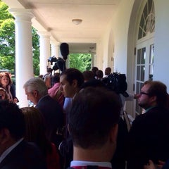 Photo taken at The Oval Office by Justin D. on 5/12/2014