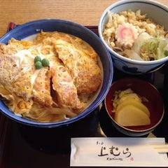 Photo taken at 日本蕎麦 月島上むら by kozo i. on 4/12/2014