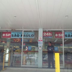 Photo taken at Drogaria São Paulo by Dante C. on 2/13/2013
