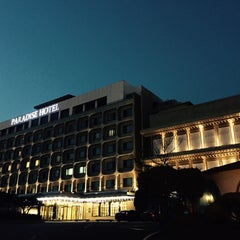 Photo taken at Paradise Hotel Incheon by Julianne K. on 3/14/2015