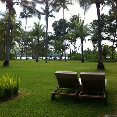 Photo taken at Kempinski Resort Seychelles by Osama K. on 12/13/2012