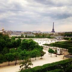 Photo taken at Jardin des Tuileries by Natalie S. on 4/28/2013