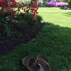 Photo taken at Azalea Gardens by Joe P. on 5/4/2015