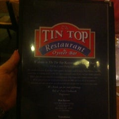 Photo taken at Tin Top Restaurant by Jeff H. on 8/22/2013