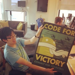 Photo taken at Foursquare HQ by Geoffroy B. on 9/13/2013