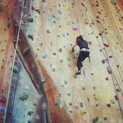 Photo taken at Hardrock Indoor Rock Climbing by dqktr on 11/12/2012