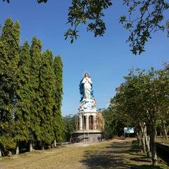 Photo taken at Gua Maria Kerep by Agustinus S. on 5/23/2015