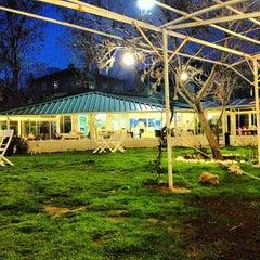 Photo taken at Çapari Bahçe Cafe by Tolga K. on 3/13/2013