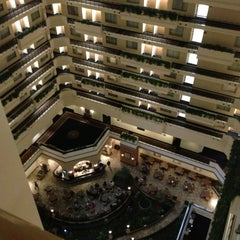 Photo taken at Embassy Suites San Diego Bay - Downtown by Tyler C. on 1/10/2013