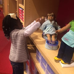 Photo taken at American Girl Boutique & Bistro by Marq J. on 2/15/2015
