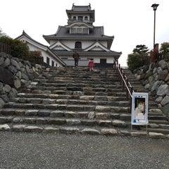 Photo taken at 長浜城 (長浜城歴史博物館) by ぜく 。. on 12/6/2015