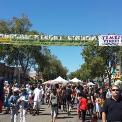Photo taken at Temescal District by Diana M. on 7/6/2014