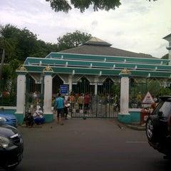 Photo taken at Masjid Raya Al-Musyawarah by Alponso P. on 1/4/2013