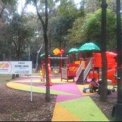 Photo taken at Parque De Paseo De Los Pirules by Pablo M. on 1/12/2015