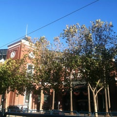 Photo taken at Willie Mays Gate by Ira S. on 10/27/2012