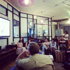 Photo taken at WeWork Labs NY by Aaron R. on 7/15/2013