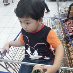 Photo taken at Tesco Hypermarket by Puteri A. on 9/4/2015