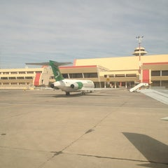 Photo taken at Saparmurat Turkmenbashi International Airport (ASB) by Ali D. on 3/16/2013