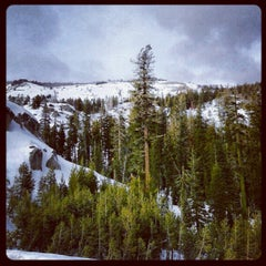 Photo taken at Donner Pass Summit by Kimberlee C. on 1/28/2013