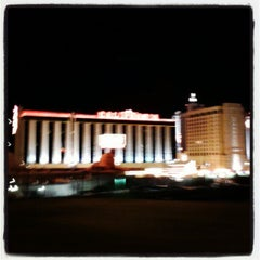 Photo taken at The California Hotel & Casino by Kimberlee C. on 2/28/2013