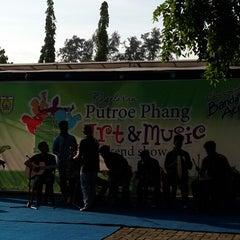 Photo taken at Putroe Phang Park by Treasuri T. on 5/24/2014