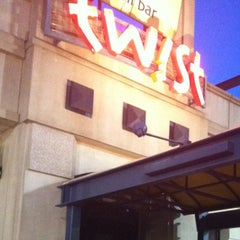 Photo taken at Twist Restaurant & Tapas Bar by LaDonna R. on 4/21/2013