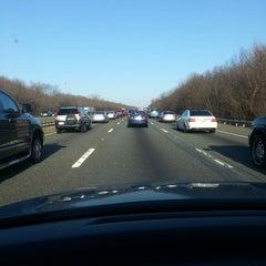 Photo taken at I-80 (Interstate 80) by Cara C. on 4/5/2013
