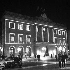 Photo taken at Ajuntament de Barcelona by Nuria E. on 12/20/2012
