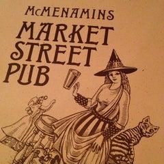 Photo taken at McMenamins Market Street Pub by Justin G. on 1/3/2013