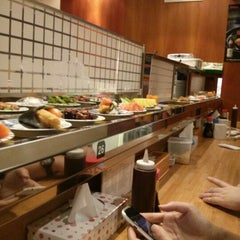 Photo taken at Kulu Kulu Sushi by Stavroula K. on 1/31/2013