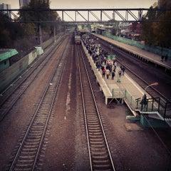 Photo taken at Станция «Одинцово» by Tasha O. on 10/23/2012
