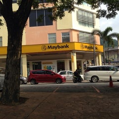 Photo taken at Maybank Section 5 by Austin M. on 7/22/2014