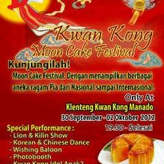 Photo taken at Sekolah Tri Dharma T.I.TD Kwan Seng Ta Tie (Kwan Kong) by Ivana P. on 10/1/2012