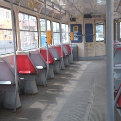 Photo taken at Průběžná (tram) by Oto S. on 4/27/2013