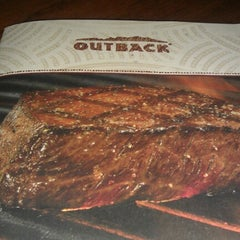Photo taken at Outback Steakhouse by Ms. S. on 10/28/2012