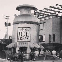 Photo taken at Little Man Ice Cream by MrFJ D. on 4/1/2013