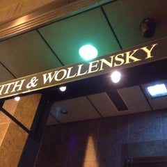 Photo taken at Smith & Wollensky Steakhouse - Philadelphia by Chris F. on 12/31/2013
