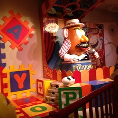 Photo taken at Toy Story Midway Mania by Mariana N. on 5/12/2013