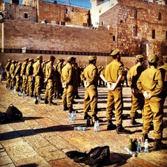 Photo taken at Western Wall (הכותל) by Dini on 9/14/2012