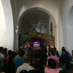 Photo taken at Iglesia san juan nepomuseno by Hector C. on 4/19/2014