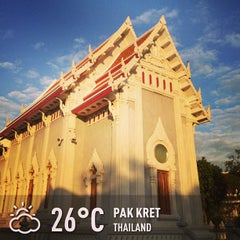 Photo taken at วัดชลประทานรังสฤษฎ์ (Wat Chonprathan Rangsarit) by Chanchai P. on 12/30/2012