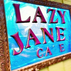 Photo taken at Lazy Jane's Cafe and Bakery by Terrence on 2/23/2013